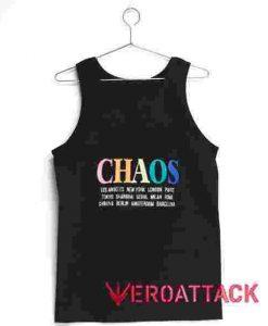 Chaos Tank Top Men And Women