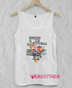 Division Of Agriculture Tank Top Men And Women