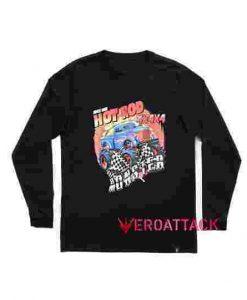 Hot Rod Monster Long sleeve T Shirt