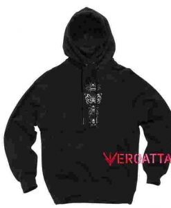 Insects Black color Hoodies