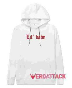Lil Baby White hoodie