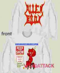 Lil Peep X Alien Body Peep Show Magazine Unisex Sweatshirts