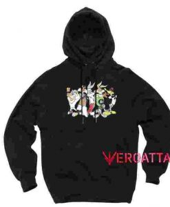 Looney Tunes Black color Hoodies