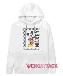 Mickey Mouse 1928 White color Hoodies