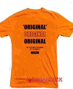 Original Xoxo Orange T Shirt Size S,M,L,XL,2XL,3XL