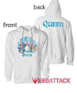 Queen A Night At The Opera White hoodie