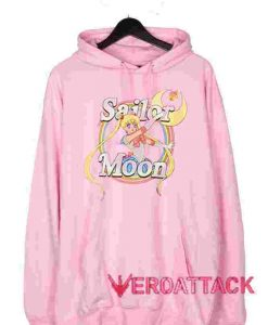 Sailor Moon Light Pink color Hoodies