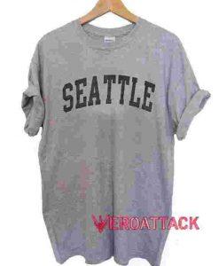 Seattle T Shirt Size XS,S,M,L,XL,2XL,3XL