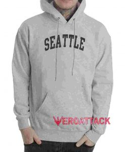 Seattle Grey color Hoodies