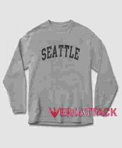 Seattle Long sleeve T Shirt
