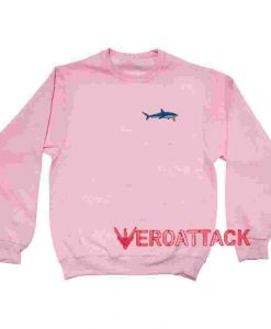 Shark Light Pink Unisex Sweatshirts