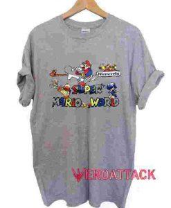 Super Mario World T Shirt Size XS,S,M,L,XL,2XL,3XL