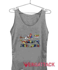Super Mario World Tank Top Men And Women