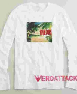 Vacation Long sleeve T Shirt
