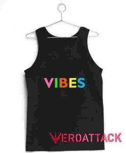 Vibes Full Color Tank Top Men And Women