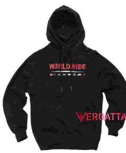 Worldwide Black color Hoodies