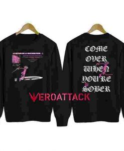 Alien Body Lil Peep Pink Panther Unisex Sweatshirts