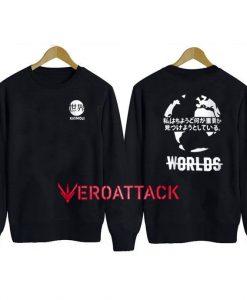 Kaomoji Worlds Unisex Sweatshirts