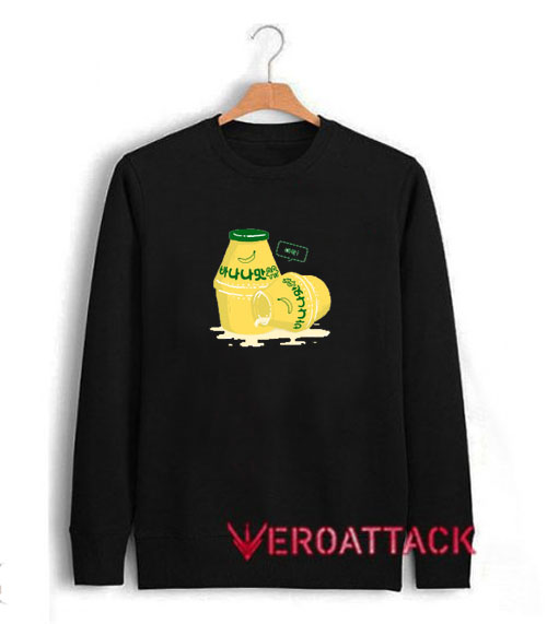 Korean Banana Milk Unisex Sweatshirts