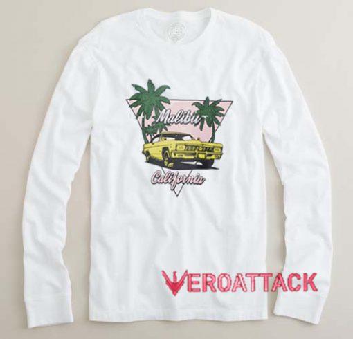 Malibu California Long sleeve T Shirt