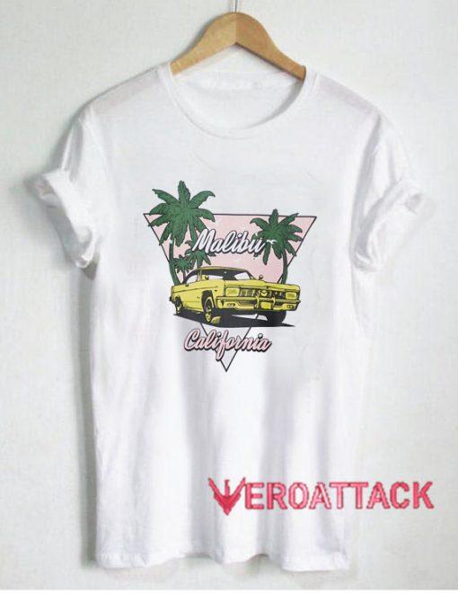 Malibu California T Shirt Size XS,S,M,L,XL,2XL,3XL
