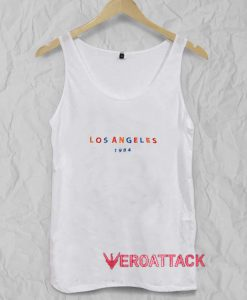 Los Angeles 1984 Letter Tank Top Men And Women