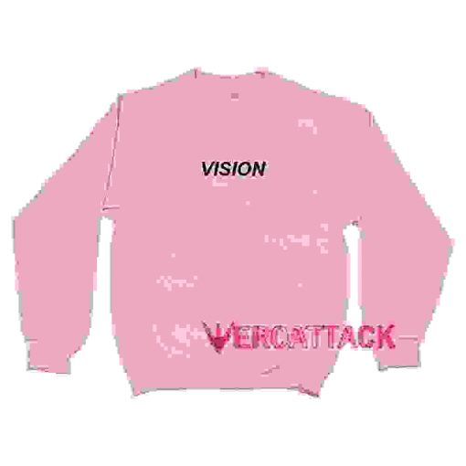 Vision Light Pink Unisex Sweatshirts