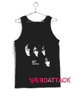 With The Beatles Tank Top Men And Women