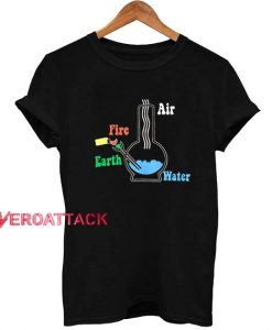 4 Elements Vintage Bong T Shirt Size XS,S,M,L,XL,2XL,3XL