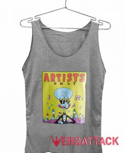 Artists Only Squidward Tank Top Men And Women