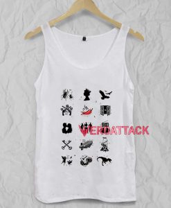 Bands Tank Top Men And Women