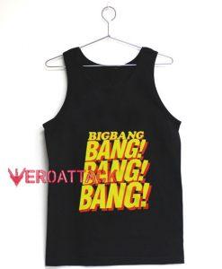 Bigbang Bang Bang Bang Tank Top Men And Women