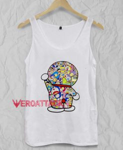 Doraemon Tank Top Men And Women