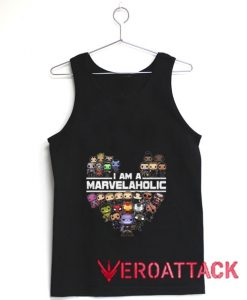 I Am A Marvelholic Tank Top Men And Women