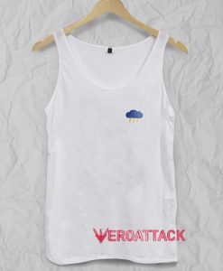It's Cloudy Tank Top Men And Women