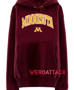 Minnesota Golden Maroon color Hoodies