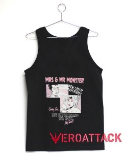 Mrs & Mr Monster Tank Top Men And Women