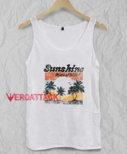 Sunshine State of Mind Tank Top Men And Women