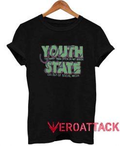 Youth State T Shirt Size XS,S,M,L,XL,2XL,3XL