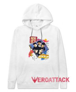 1990 Single Stitch NKOTB White color Hoodies