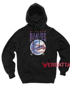 Atlana Braves Baseball Black color Hoodies
