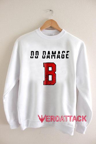 new product 70417 da994 Do Damage Boston Red Sox Version Unisex Sweatshirts