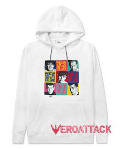 New Kids on the Block World Concert Tour White color Hoodies