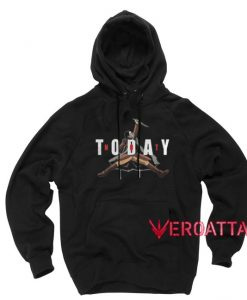 Not Today Arya Game Of Thrones Version 2 Black color Hoodies
