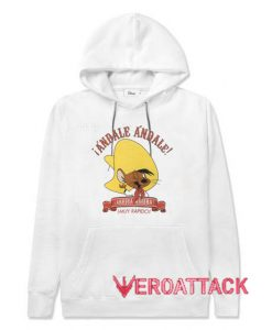 Cool speedy Gonzales White color Hoodies