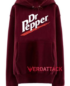 Dr Pepper Maroon color Hoodies