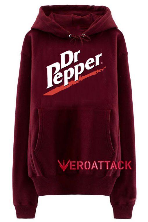 Dr Pepper Maroon color Hoodies