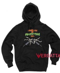 Property of Frankenstein's Lab Black color Hoodies