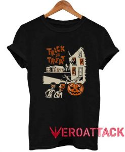 Vintage Trick Or Treat 1960s T Shirt