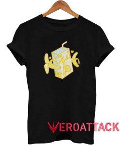 Banana Milk Box T Shirt